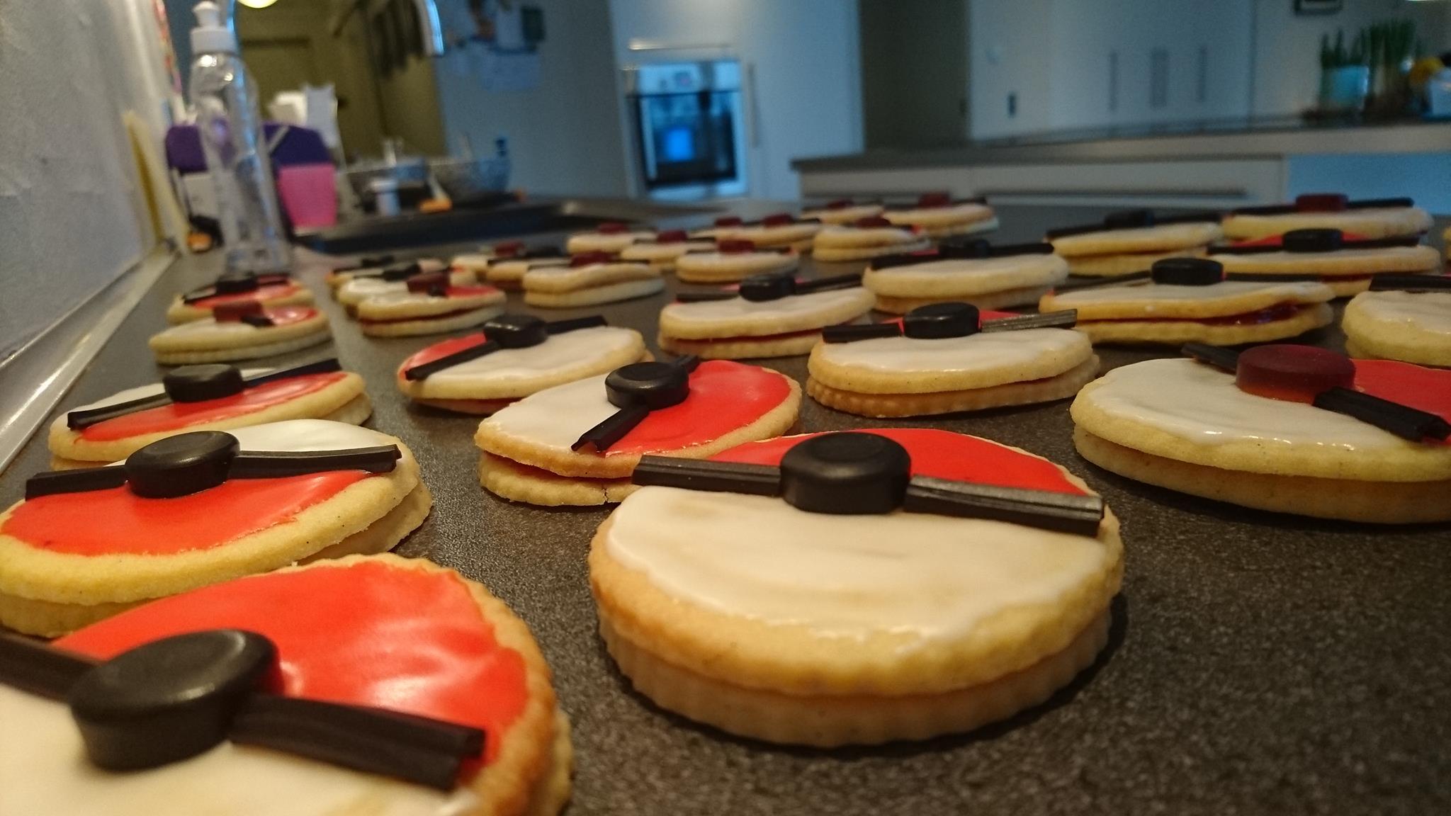 flotte kager med billede