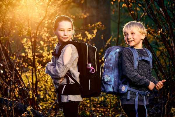 skoletaske, beckmann, kvalitet, god for ryggen