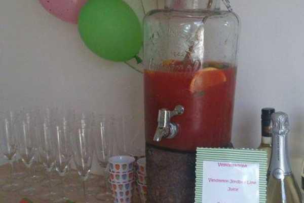 Vandmelon fest, frugt, kage, fødselsdag, barnedåb, drikke