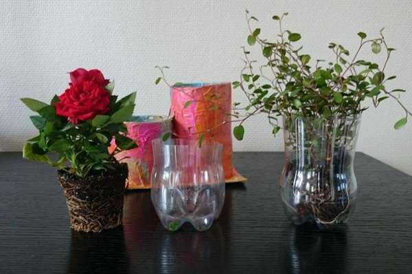 potteskjuler af paprør og papmache