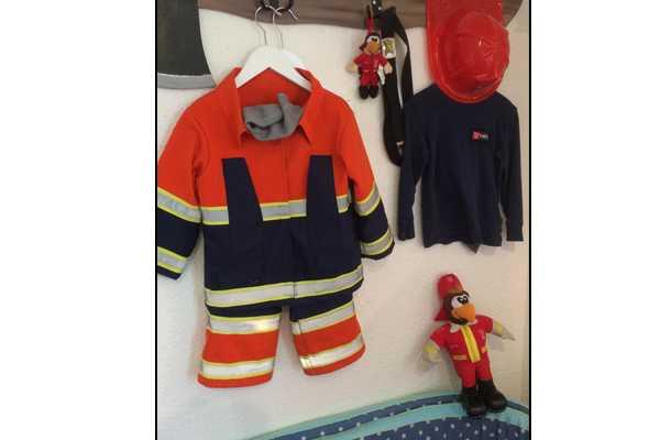 Fireman room, fireman bed, firetruck bed, brandmand, brandbil, falck
