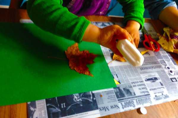 Vær kreativ med efterårsblade