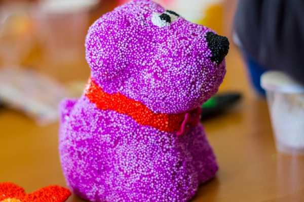 foam clay, pynt, boligpynt, kreativ med ungerne, kreative ideer, hund