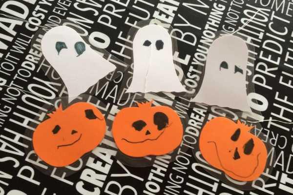 Fabriksnye Lyskæde med halloween-pynt | Kreativ med ungerne GT-22