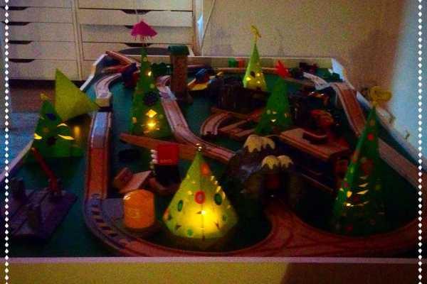 Juletræer - lysestager til LED-lys