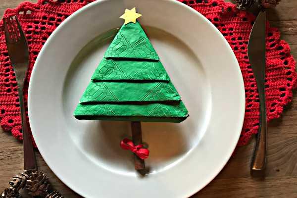 foldning af juletræer