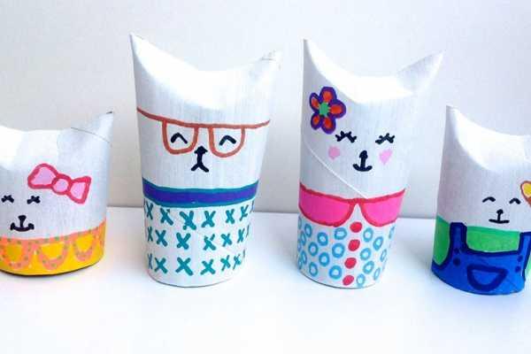kattefamliie af wc-ruller