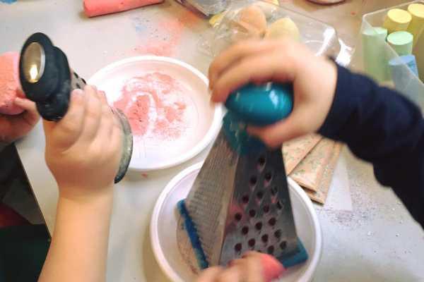 maling af kridt kridtmaling