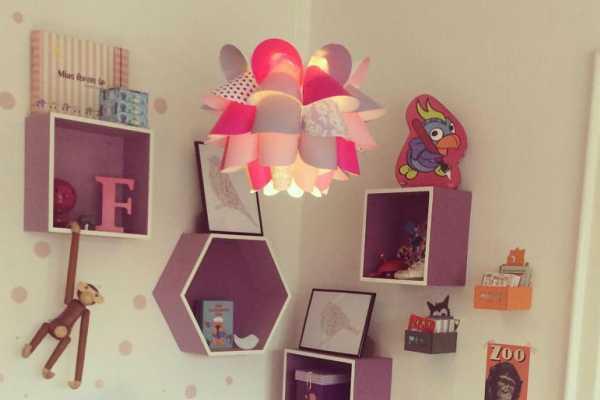 lampe, lampeskærm, børneværelset, kreativ med ungerne, kreative ideer
