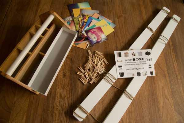 Opbevaring af krea hobbymaterialer Toto box Umbra