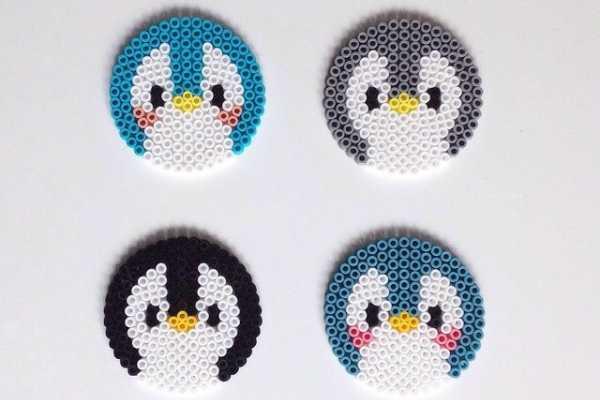 perleplade, pingvin, pingviner, coasters, bordskåner