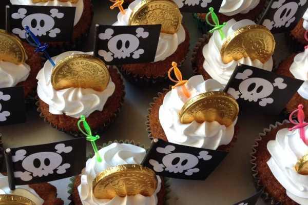 Piratfødselsdag, børnefødselsdag, piratkage