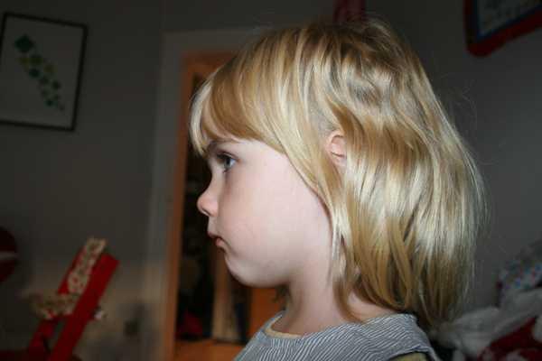 Billede i profil, silhouette