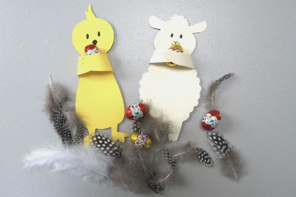 skabeloner til påske påskeklip
