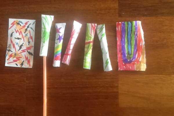 raketter, rockets, blow, straw, paper