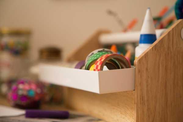 Smart krea opbevaring Kreativ med ungerne