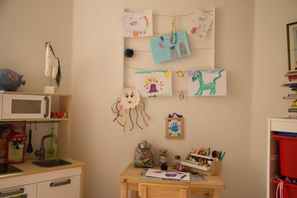 Opbevaring af krea hobbymaterialer Hangit photo display Umbra