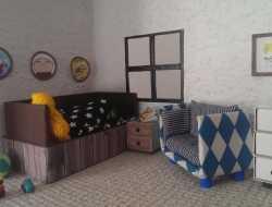 dukkehus af genbrug