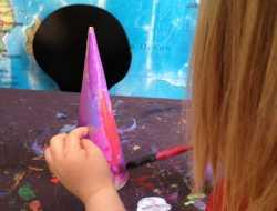 kegler, maling, pap, kreativ leg