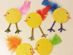 påske, kylling, easter, chick, chicken, piberenser, fjer