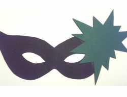 maske, fastelavn, udklædning, superhelt, grønne lygte