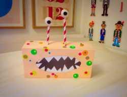 Monster af kleenex-box