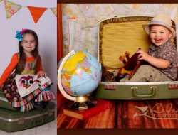 kreativ med ungerne på ferien
