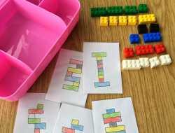 Lego, form og farve, ferieunderholdning, bygge,