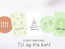 gratis gavemærker til at printe ud