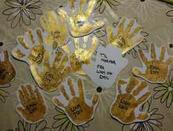 Håndaftryk som til- og frakort