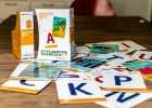 Shufflebook - kom og stav med os - bogstavleg, bogstaver